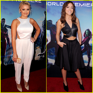 Emily Osment & Chloe Bennet are Gorgeous 'Guardians Of The Galaxy' Premiere Girls