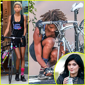Jaden & Willow Smith Smith Bike on Different Coasts!