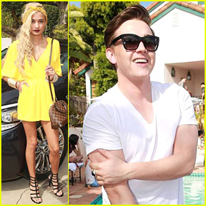 Jesse McCartney & Pia Mia Celebrate Annex Mag's July 2014 Issue