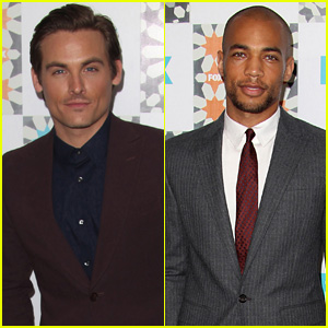Gracepoint's Kevin Zegers & Kendrick Sampson Party it Up at TCA 2014