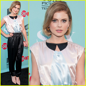 Rose McIver Shimmers at 'Masters of Sex' TCA Event 2014