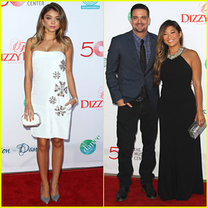 Sarah Hyland Celebrates Dance with 'Hair' Co-Star Jenna Ushkowitz