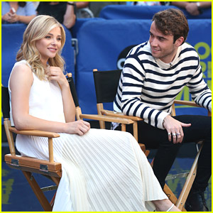 Chloe Moretz & Jamie Blackley Bring 'If I Stay' To GMA