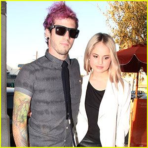 Debby Ryan & Boyfriend Joshua Dun Dine Out At Little Door