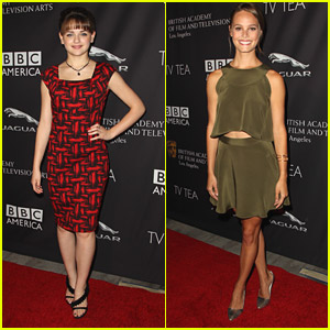 Joey King & Bailey Noble Have A Tea Party With BAFTA Los Angeles