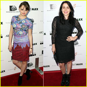 Joey King & Mae Whitman Are All 'About Alex'