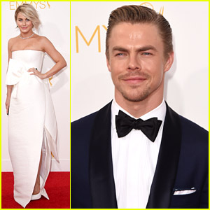 Siblings Julianne & Derek Hough Dance Their Way To Emmys 2014