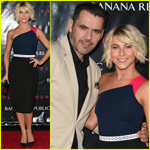 Julianne Hough Mingles at the Roland Mouret for Banana Republic Collection Launch