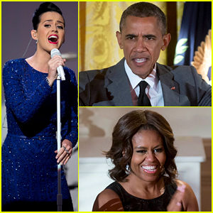 Katy Perry Performed for President Obama & the First Lady at the White House