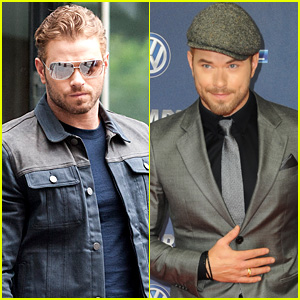 Kellan Lutz Keeps it Suave at 'The Expendables 3' German Premiere