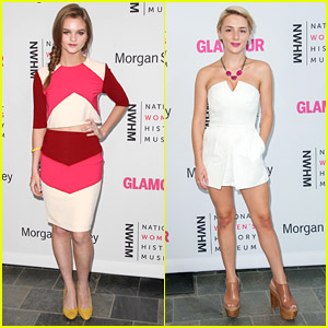 Kerris Dorsey & Addison Timlin Make History At National Women's History Museum Brunch
