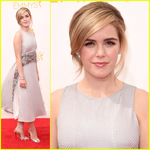 Kiernan Shipka Is Oh, So Elegant For Emmy Awards 2014