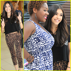 Madison Beer Opens New M.A.C. Store in Florida with Fans!
