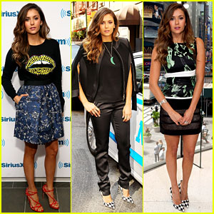 Nina Dobrev Is Still On Top of the Fashion Game While Promoting 'Let's Be Cops' in NYC