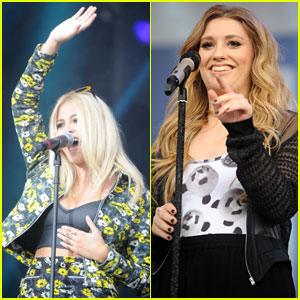Pixie Lott & Ella Henderson Hit the Stage at Total Access Live!