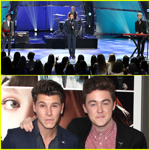 Rixton Performs on 'SYTYCD' Before Hitting Up the 'If I Stay' Premiere