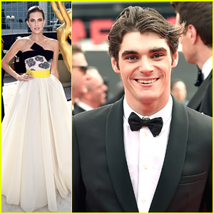 Breaking Bad's RJ Mitte Brings Mom Dyna To Emmy Awards 2014