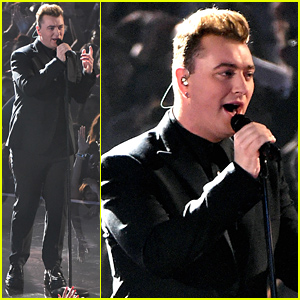 Sam Smith Beautifully Sings 'Stay with Me' at MTV VMAs 2014 - Watch Now!