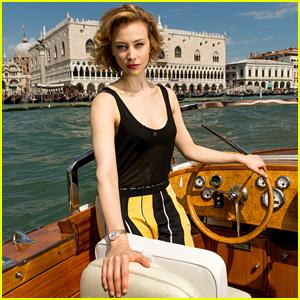 Sarah Gadon Gets Serious for Venice Film Festival Photo Shoot