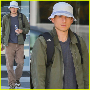 Wentworth Miller Takes a Break From 'The Flash' Filming in Vancouver