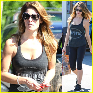 Ashley Greene Misses Being Blonde!