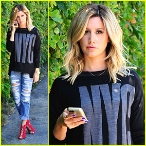 Ashley Tisdale Answers Phone Calls Ahead of Wedding To Christopher French