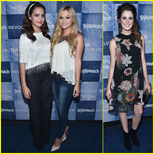Bailee Madison & Olivia Holt Are Red Carpet BFFs at People StyleWatch Event!