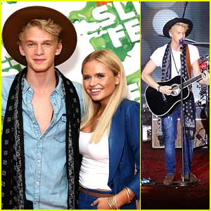 Cody Simpson Lights Up Slimefest 2014 in Sydney - See The Pics!