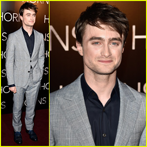 Daniel Radcliffe Premieres 'Horns' in Paris