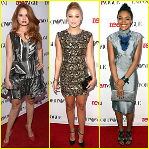 Debby Ryan & Olivia Holt Are Disney Darlings at Teen Vogue's Young Hollywood Party 2014!