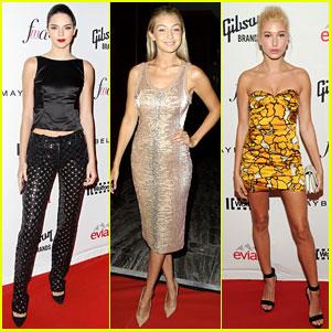 Gigi Hadid & Kendall Jenner Are Beautiful BFFs at Fashion Media Awards!