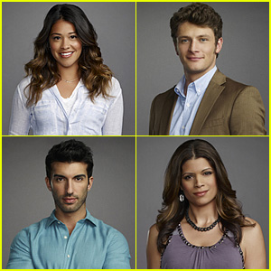 Gina Rodriguez & 'Jane the Virgin' Cast Photos Released!