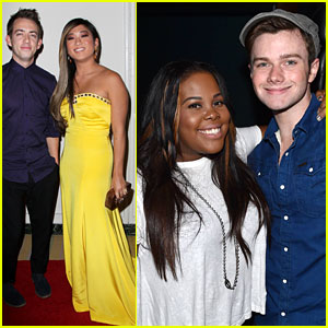 When the 'Glee' Cast Hangs Out, We Can't Help But Smile!