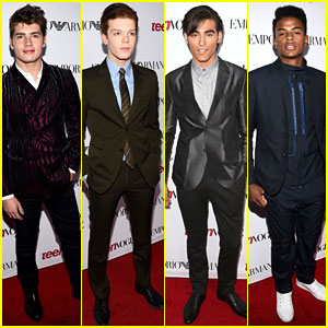 Gregg Sulkin & Cameron Monaghan Get All Dressed Up for Teen Vogue's Young Hollywood Party 2014!