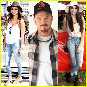 Jamie Chung & Kellan Lutz are 'Made in America' with American Eagle Outfitters!