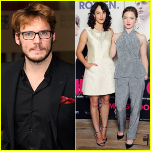 Jessica Brown Findlay & Sam Claflin Premiere 'The Riot Club' in London