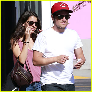 Josh Hutcherson Goes Shopping with Girlfriend Claudia Traisac!