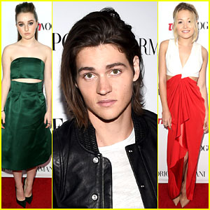 Kaitlyn Dever & Will Peltz Hit the Red Carpet at Teen Vogue's Young Hollywood Party 2014!