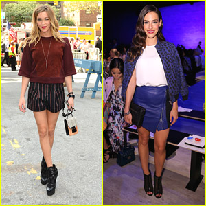 Katie Cassidy Knows It's All About The Boots at NYFW