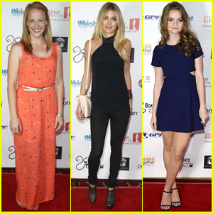 Katie Leclerc Attends '8 Days' Premiere After Wedding to Brian Habecost
