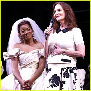 Keke Palmer Meets TV Cinderella Lesley Ann Warren To Celebrate 50 Years of Cinderella!