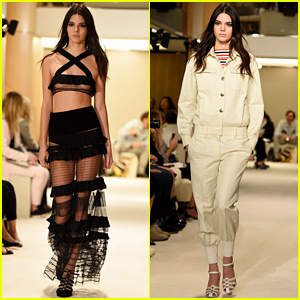 Kendall Jenner Walks Another Runway at Paris Fashion Week!