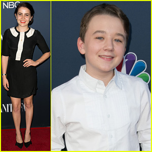 Mae Whitman & Benjamin Stockham Celebrate Their Shows at NBC & Vanity Fair Event