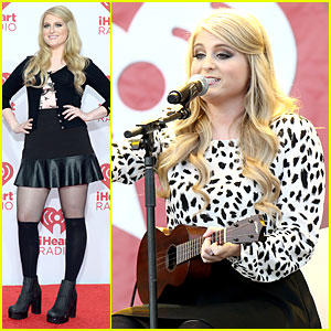 Meghan Trainor Is 'All About the Bass' at the iHeartRadio Music Festival 2014