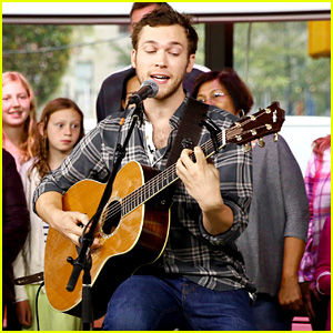 Phillip Phillips Got Starstruck By Kirsten Dunst on 'The Today Show'