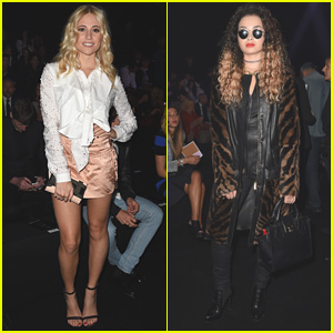 Pixie Lott & Ella Eyre Make it to Milan for Just Cavalli Fashion Show