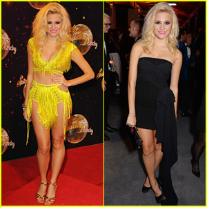 Pixie Lott Attends Two Events in One Night!