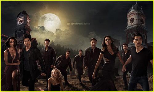 Stefan & Elena Hold Hands in New 'Vampire Diaries' Season Six Poster!