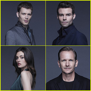 Joseph Morgan & Daniel Gillies Make Us Swoon in 'The Originals' Season Two Cast Photos!