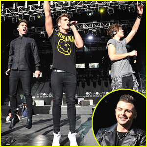 Union J's JJ Hamblett Jumps Off Stage at Fusion Festival 2014!